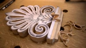 Carving Greek Style Acroterion School of Woodcarving https://schoolofwoodcarving.io/ #woodcarving #woodworking #architecturalcarving #furniturecarving @grabovetskiy