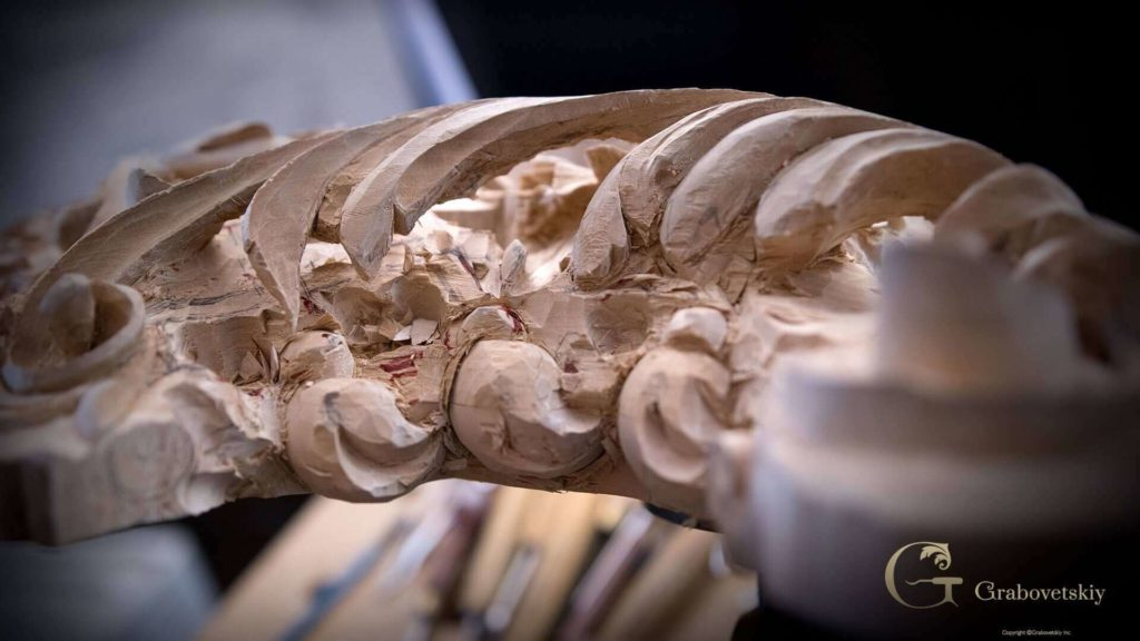 School of Woodcarving- Carving Grinling Gibbons Style with Woodcarver Alexander Grabovetskiy #woodcarving #woodworking   WOODCARVING SCHOOL @Grabovetskiy