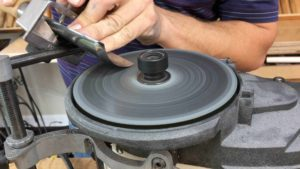 Learn To Sharpen Large Woodcarving Gouge - Power Sharpening - WorkSharp 3000 method. #sharpening #sharpeningwoodcarvingtools @grabovetskiy