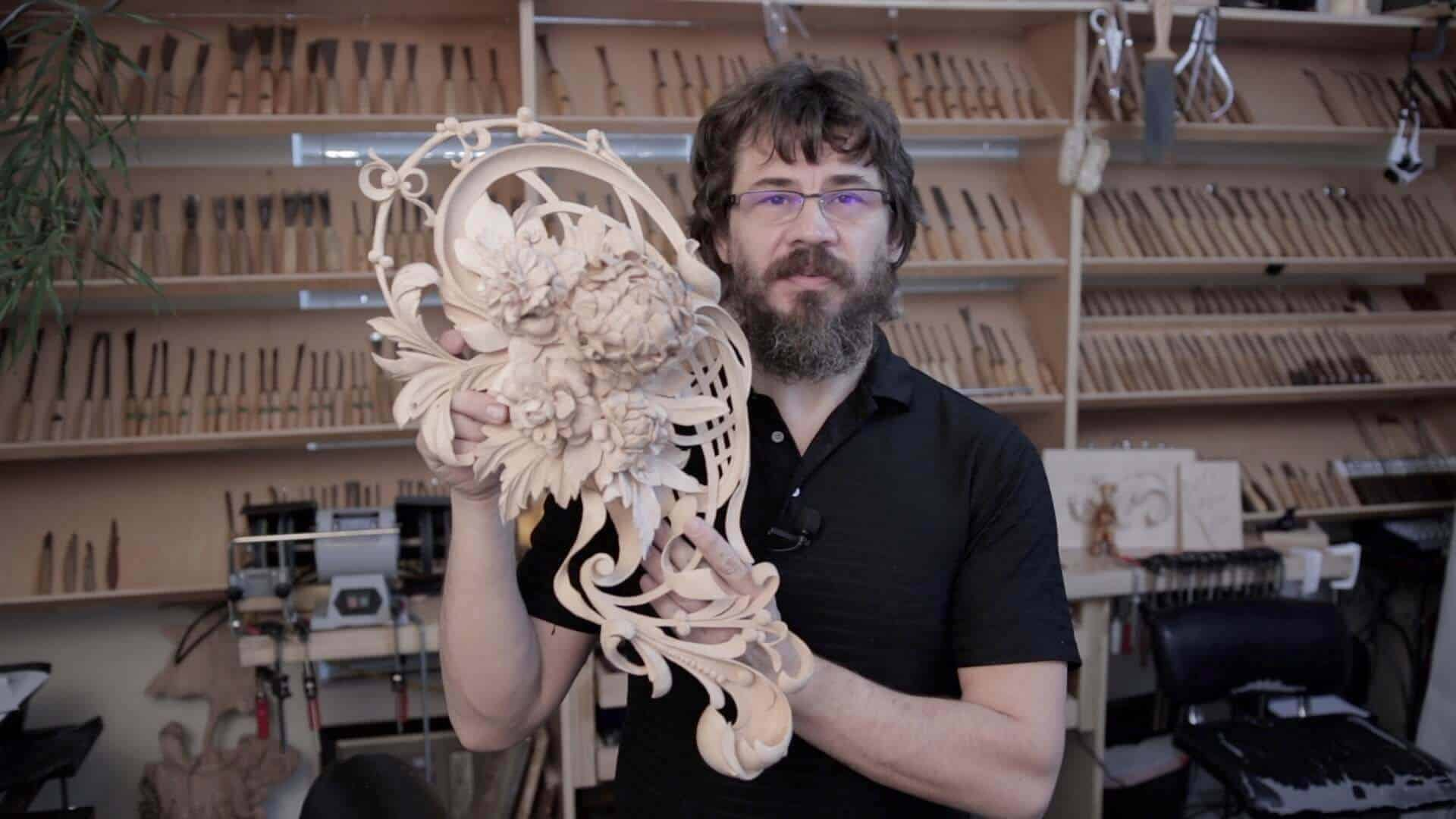 Carving in the Style of Grinling Gibbons: Foliage Carving -Marc Adams School of Woodworking