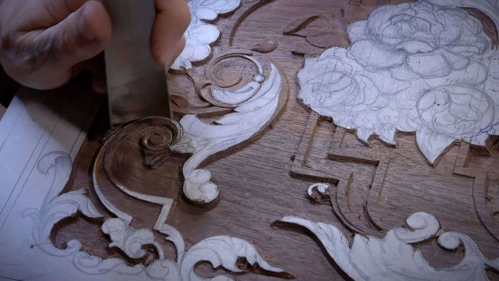 Carving Furniture Panel -Woodcarving, From Designing to Carving - Learn To Carve Late 18th Century Style Furniture Panel - Woodcarving School Online with Alexander Grabovetskiy. @grabovetkiy #woodcarving #woodworking Woodcarving Video Workshops. Woodcarving Lessons. Wood Carving Virtual Apprenticeship. Classical Woodcarving Courses online.