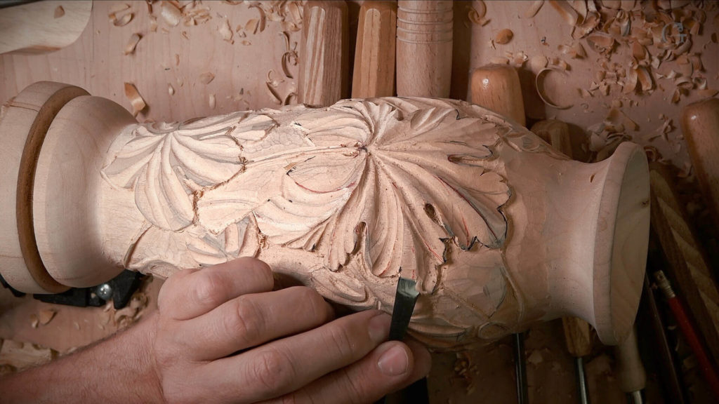 Wood Carving on WoodTurning, Carving Texture & Patterns into Turned Bowls, Woodturning, Scrolling, and Carving, Wood Turning & Carving, Wood turning & Wood Carving, What machine is used for wood turning?, carving woodturnings, carving onwoodturning, worstwoodforturning, carvingtexture inwood, texturingwoodturnings, bestwoodforturning, woodforturning onlathe, wood turningmahogany, how to carve grape leaves on vase,wood vases, natural woodvase, woodenvase, turned wooden vases, wood budvase, rustic woodvase, mango woodvase, woodvaseset, learn to carve wood vase with grape leaves.
