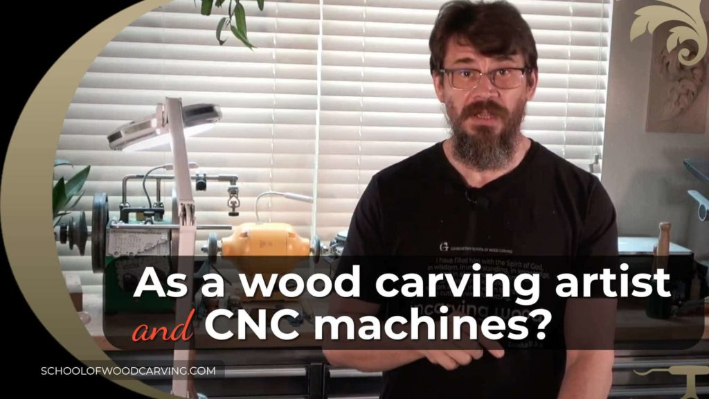 As a wood carving artist should I be worried about CNC machines